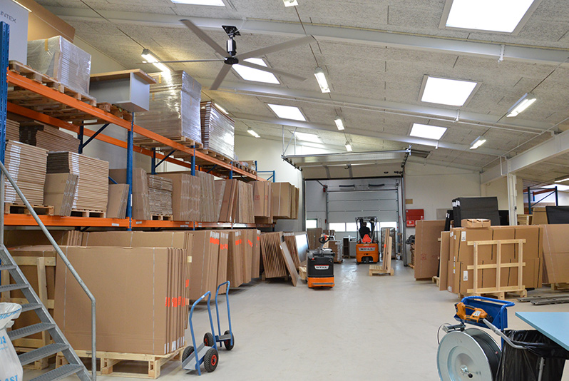 Lintex Ceiling fan - loftventilator - loft ventilator - decken ventilatoren - from NORDICCO