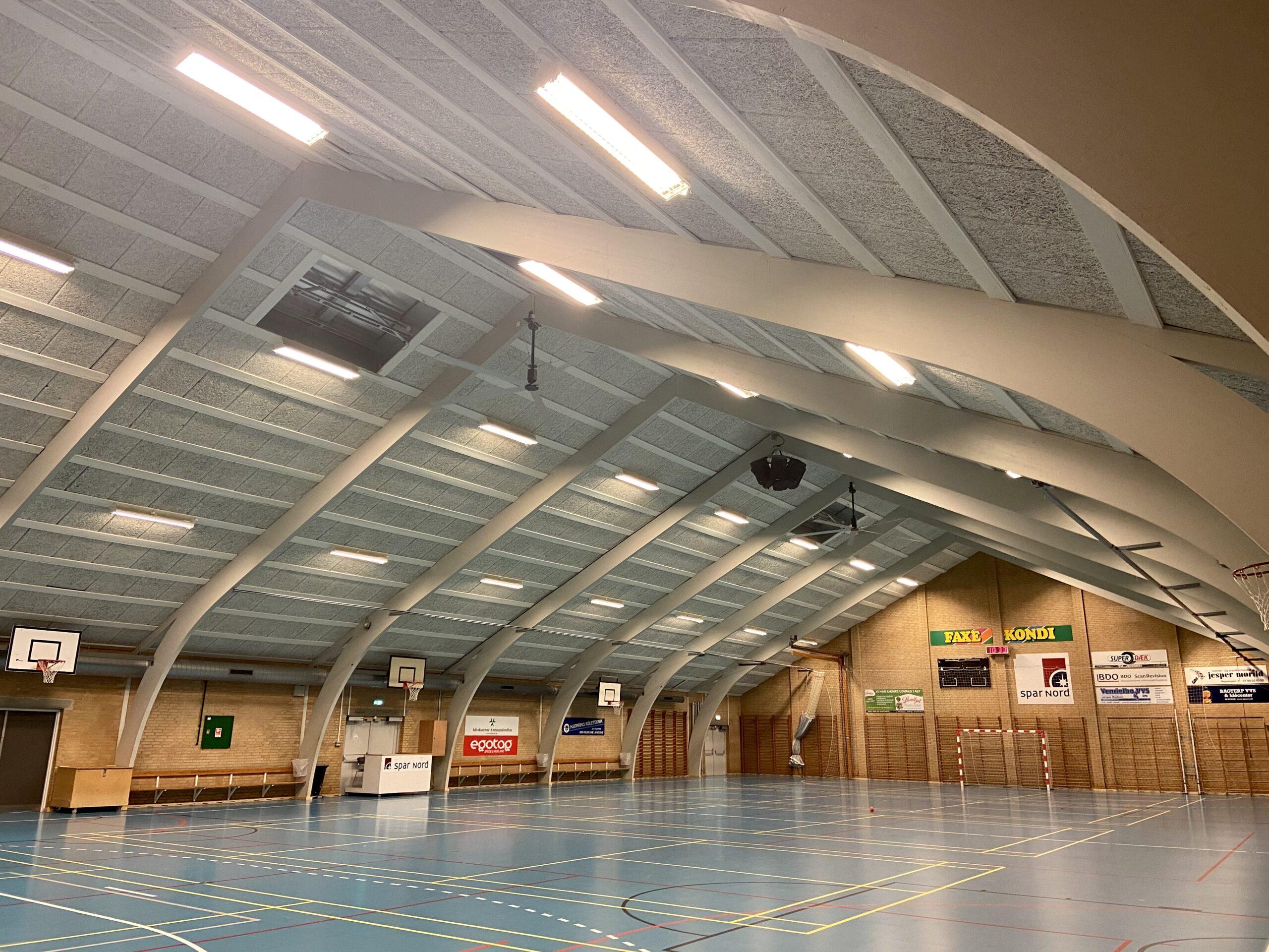 Bagterp Hallen, Hjørring Kommune HVLS ventilator